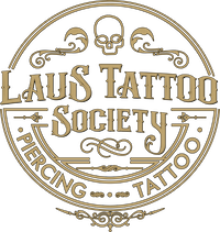 Laus Tattoo Society Logotipo