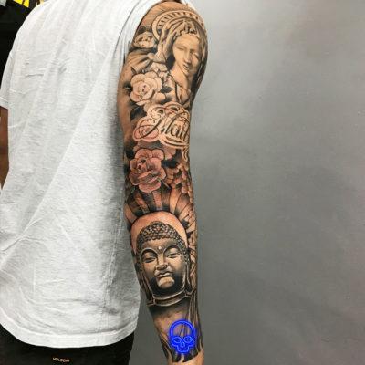 Tatuagem Black and Grey, Estudio de Tatuagem SP