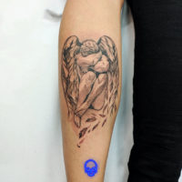 Tatuagem Black and Grey, Estudio de Tatuagem SP