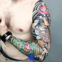 Tatuagem Oriental, Estudio de Tatuagem SP