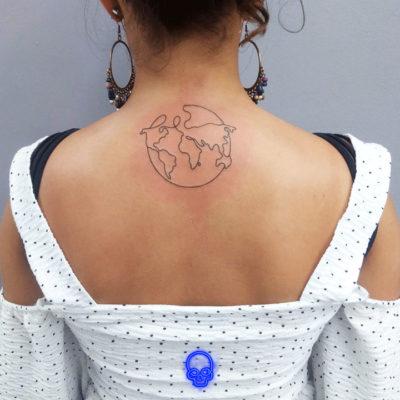 Tatuagem Traço Fino Feminina SP