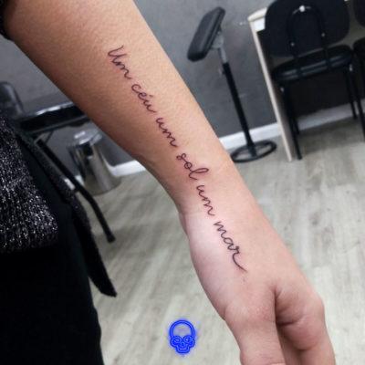 Tatuagem Traço Fino, Estudio de Tatuagem SP